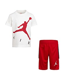 Little Boys T-Shirt and Shorts Set
