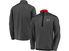 Men's Chicago Blackhawks Travel & Training Quarter-Zip Pullover