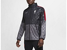Liverpool FC Club Team Woven Lightweight Jacket