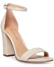 Bella Two-Piece Block Heel Sandals