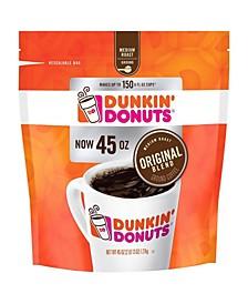 Donuts Original Blend Ground Coffee Medium Roast, 45 oz