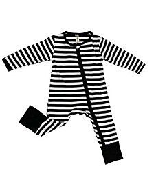 Baby Boys and Girls Bamboo 2 Way Zippy Coverall