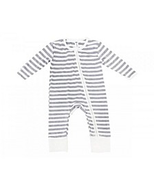 Baby Boys and Girls Viscose from Bamboo and Cotton Blend 2 Way Zippy Coverall