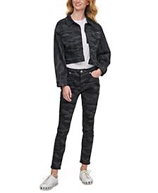 Camo Jean Trucker Jacket
