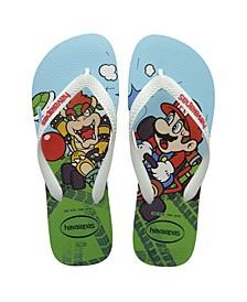 Kids Mario Bros Flip Flop Sandal
