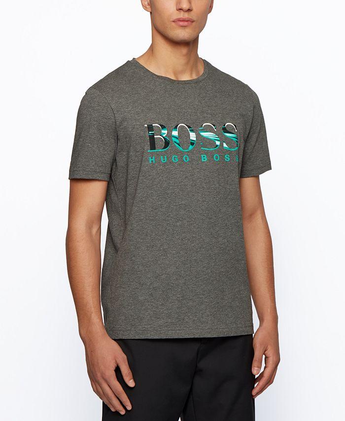 Hugo Boss - Men's Tee 3 Regular-Fit Cotton T-Shirt