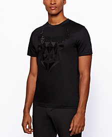 BOSS Men's Teeox Slim-Fit Cotton T-Shirt