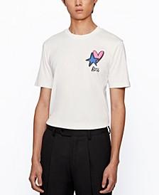 BOSS Men's Tiburt Regular-Fit Cotton T-Shirt