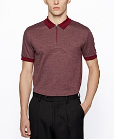 BOSS Men's T-Peterson Slim-Fit Cotton Polo Shirt