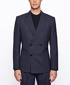 BOSS Men's Caymen Double-Breasted Jacket