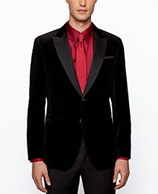 BOSS Men's Helward4 Slim-Fit Tuxedo Jacket