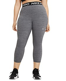Plus Size Women's Pro Cropped Leggings