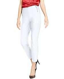 INC Petite Side-Zip Skinny Pants, Created for Macy's