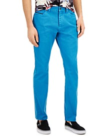 Men's Slim-Fit Derrick Garment Dyed Pants, Created for Macy's