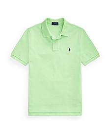 Big Boys Mesh Polo Shirt