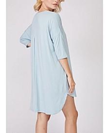 3/4 Sleeve Nightshirt