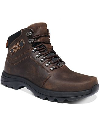 Rockport Elkhart Waterproof Lace-Up Boots