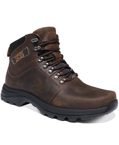 Rockport Elkhart Waterproof Lace-Up Boots - All Men's Shoes - Men ...