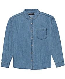 Men's Randell Long Sleeve Denim Shirt