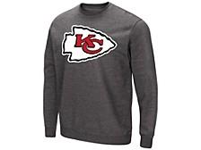 Authentic Apparel KANSAS CITY CHIEFS Men's Fleece-Tek Patch Long Sleeve T-Shirt