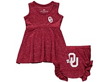 Infant Oklahoma Sooners Girls Bloomer Set