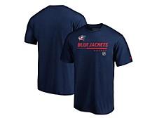 Columbus Blue Jackets Men's Locker Room Prime T-Shirt