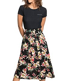Women's Never Been Better Dobby Midi Skirt