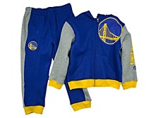 Toddlers Golden State Warriors Show and Go Set
