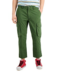 Men's Vlad Regular-Fit Cropped Cargo Pants, Created for Macy's