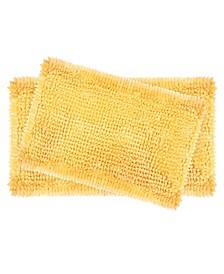 Butter Chenille Bath Mat, Set of 2