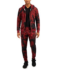 INC Men's Charted Track Suit Separates, Created for Macy's