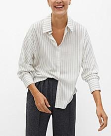 Women's Striped Textured Shirt