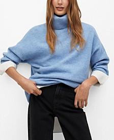 Women's Turtleneck Oversize Sweater