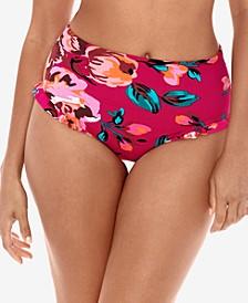 Hot House Daisy Duke High-Waist Bikini Bottoms