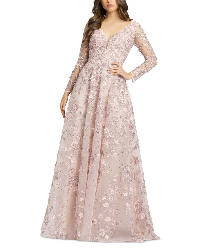 MAC DUGGAL - Embroidered Gown