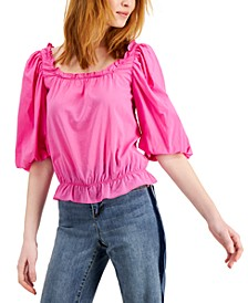 INC Square-Neck Blouse, Created for Macy's