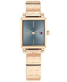 Women's Carnation Gold-Tone Bracelet Watch 21x24mm