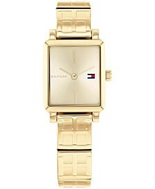 Women's Gold-Tone Bracelet Watch 21x24mm