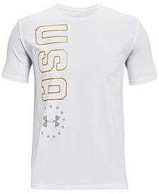 Men's USA Vertial Logo T-Shirt
