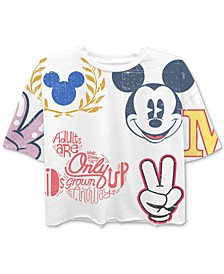 Juniors' Mickey Mouse Graphic T-Shirt