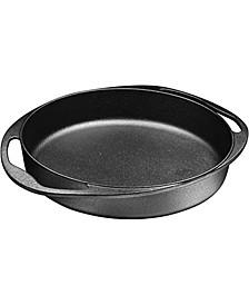 Double Handled Pre-Seasoned Cast Iron Round Tarte Tatin Dish Pan Mini Roasting Dish