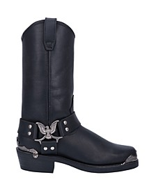 Chopper Men's Genuine Leather Harness Boot