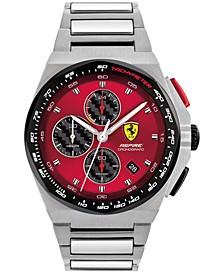 Men's Chronograph Aspire Stainless Steel Bracelet Watch 44mm
