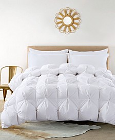 Pintuck Down Comforter, Full/Queen