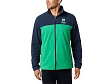 Notre Dame Fighting Irish Men's Flanker Jacket III Fleece Full Zip Jacket
