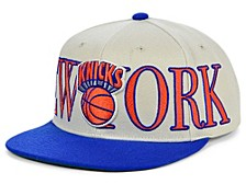 New York Knicks Hardwood Classic Winners Circle Snapback Cap