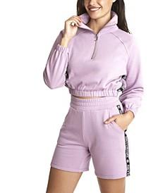 Women's Half Zip Raglan Sweatshirt