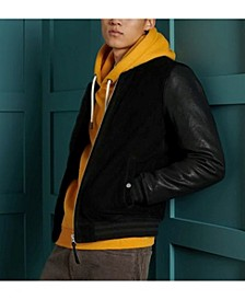 Men's Varsity Leather Jacket