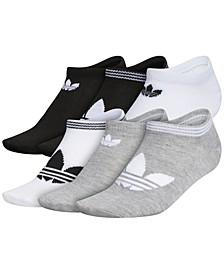 Women's 6-Pk. Trefoil Superlite No-Show Socks