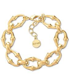 Gold-Tone Sculptural Link Bracelet, Created for Macy's